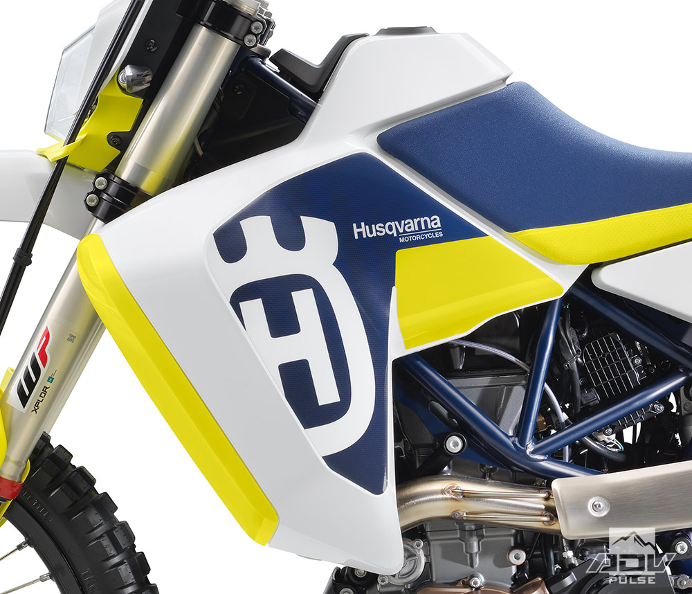 Husqvarna 701 LR additional fuel tank