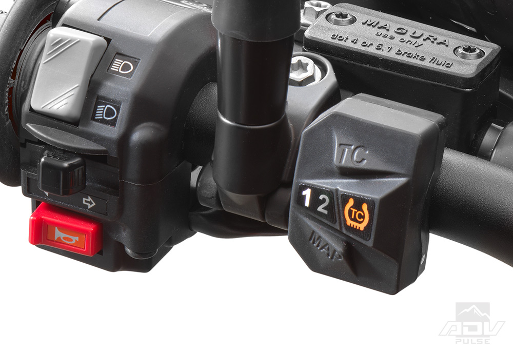 Husqvarna 701 LR traction control