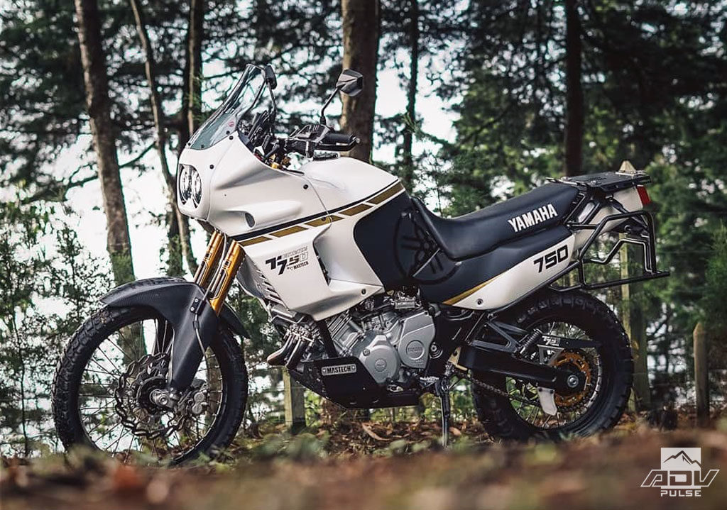 Old Meets New In This Stunning Yamaha XTZ 750 Super Tenere Build - ADV Pulse