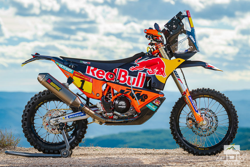 2020 Factory KTM 450 rally bike