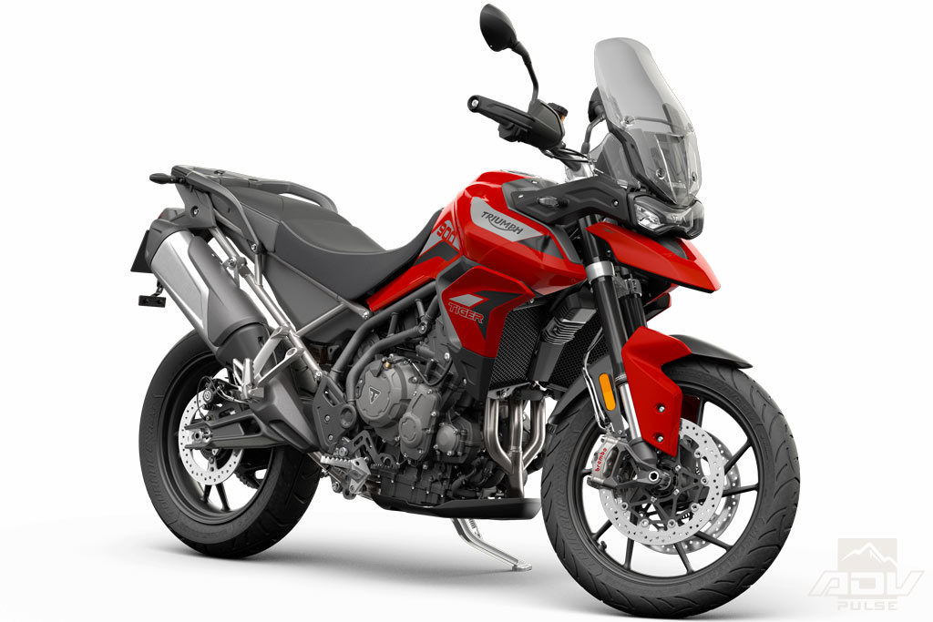 Triumph Tiger 900 in Karosi Red