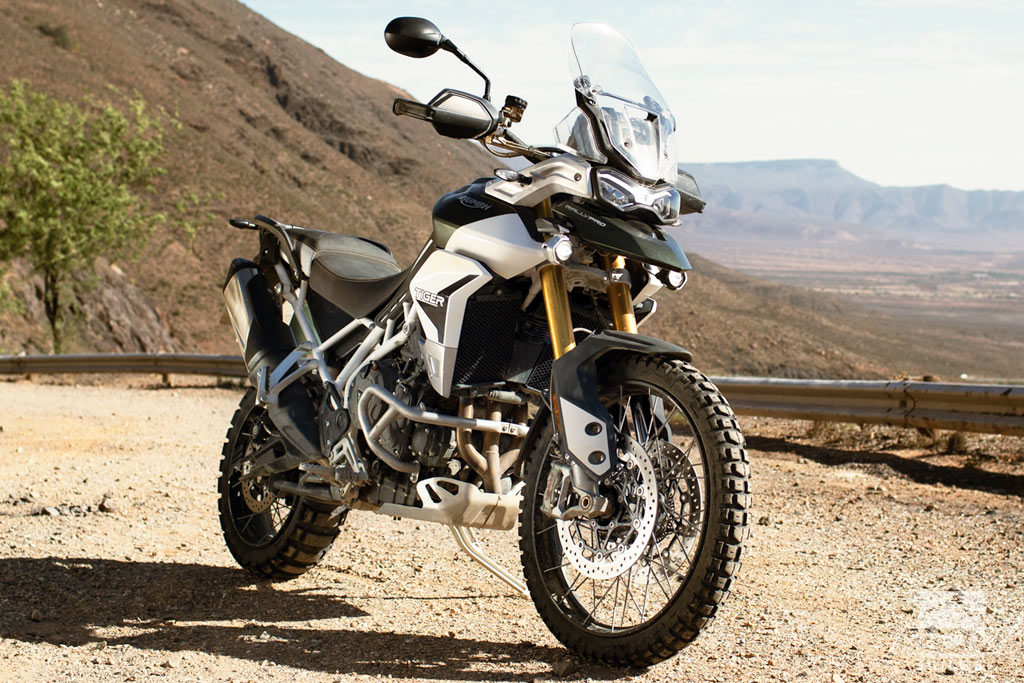 off road focused Triumph Tiger 900 Rally Pro