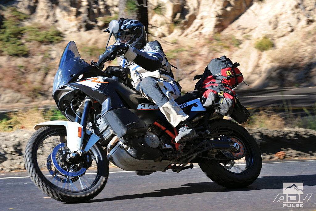 Street test KTM 990 adventure r