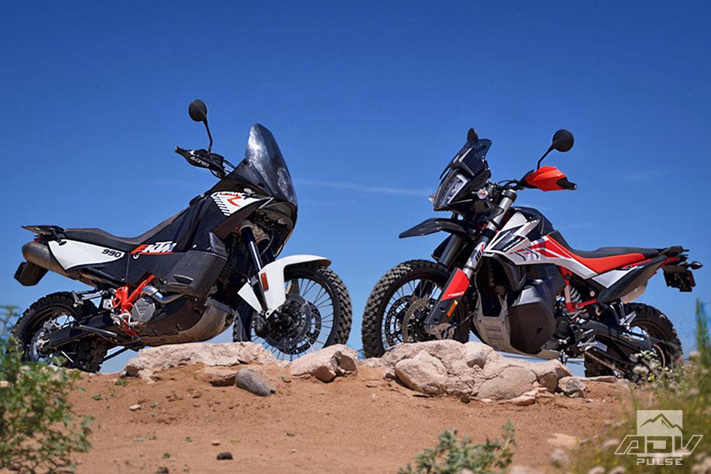 KTM 790 Adventure R vs. KTM 990 Adventure R comparison