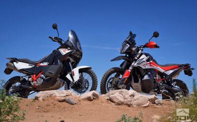 KTM 790 Adventure R vs. KTM 990 Adventure R comparison