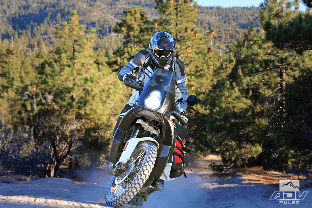 Off-road test KTM 990 Adventure R