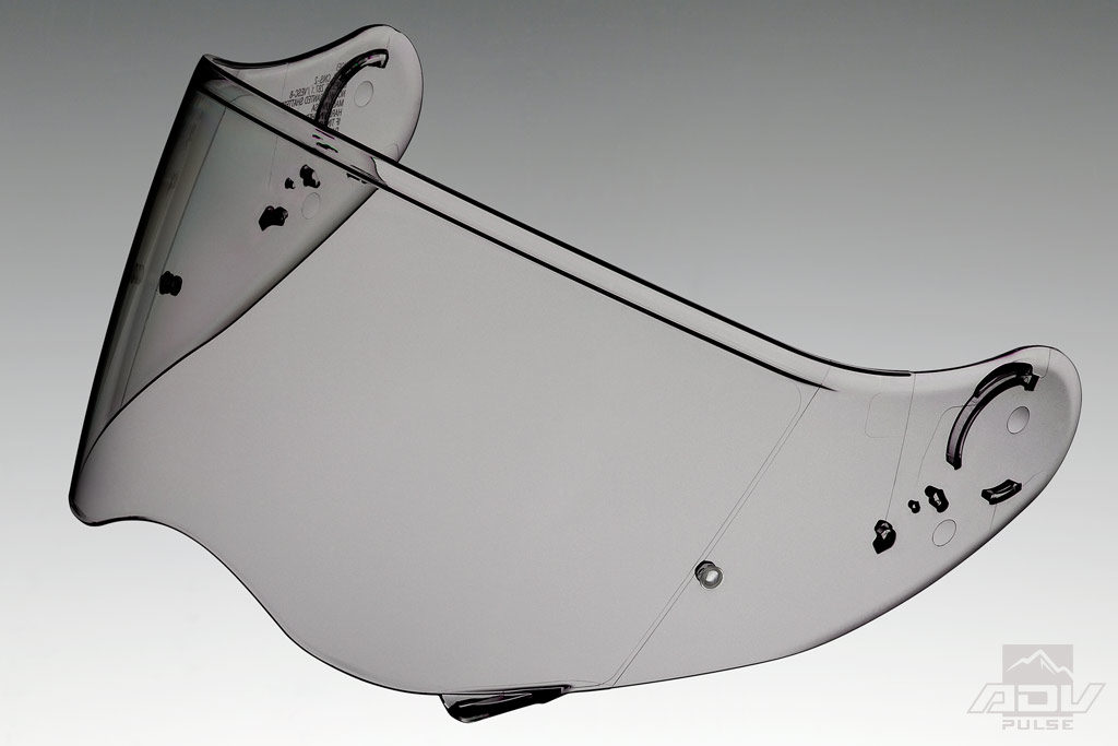 Shoei Hornet X2 transition shield