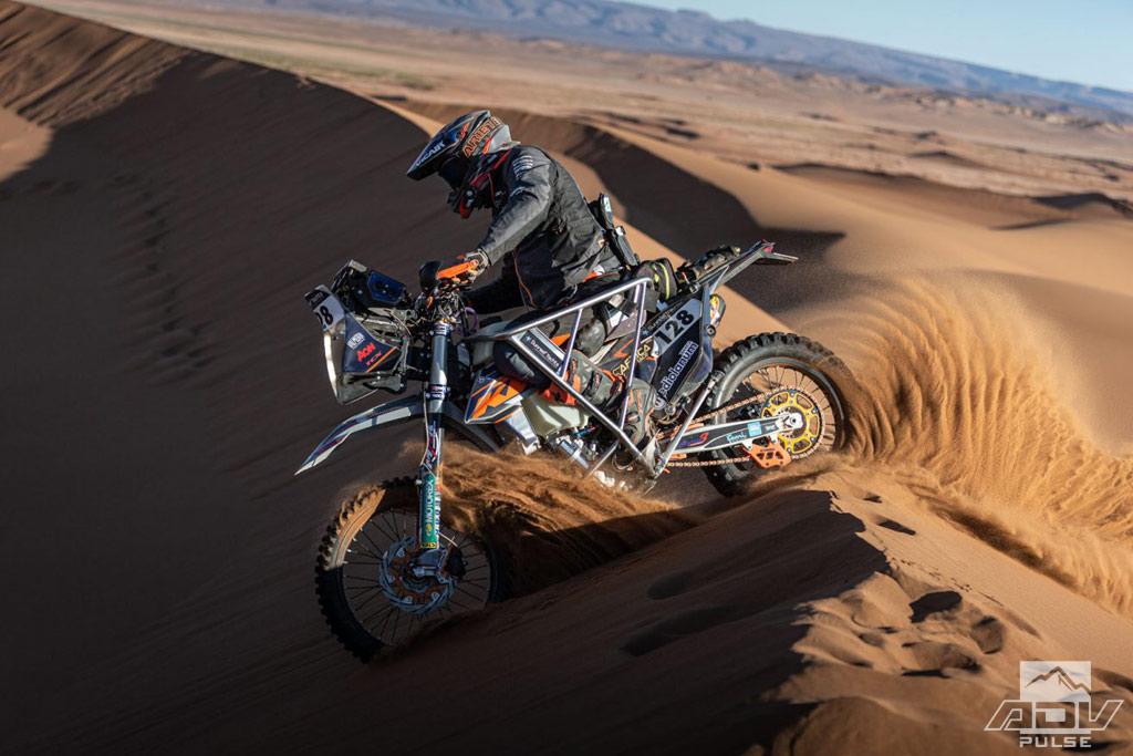 Nicola Dutto first paraplegic to finish Africa Eco Race