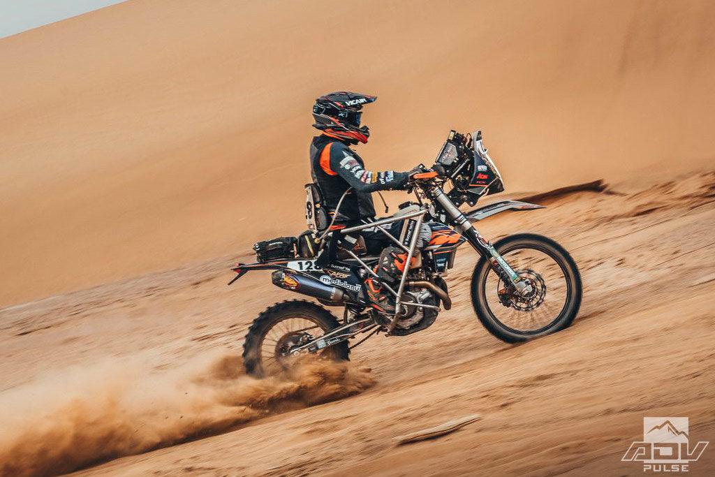 Nicola Dutto races Africa Eco Race