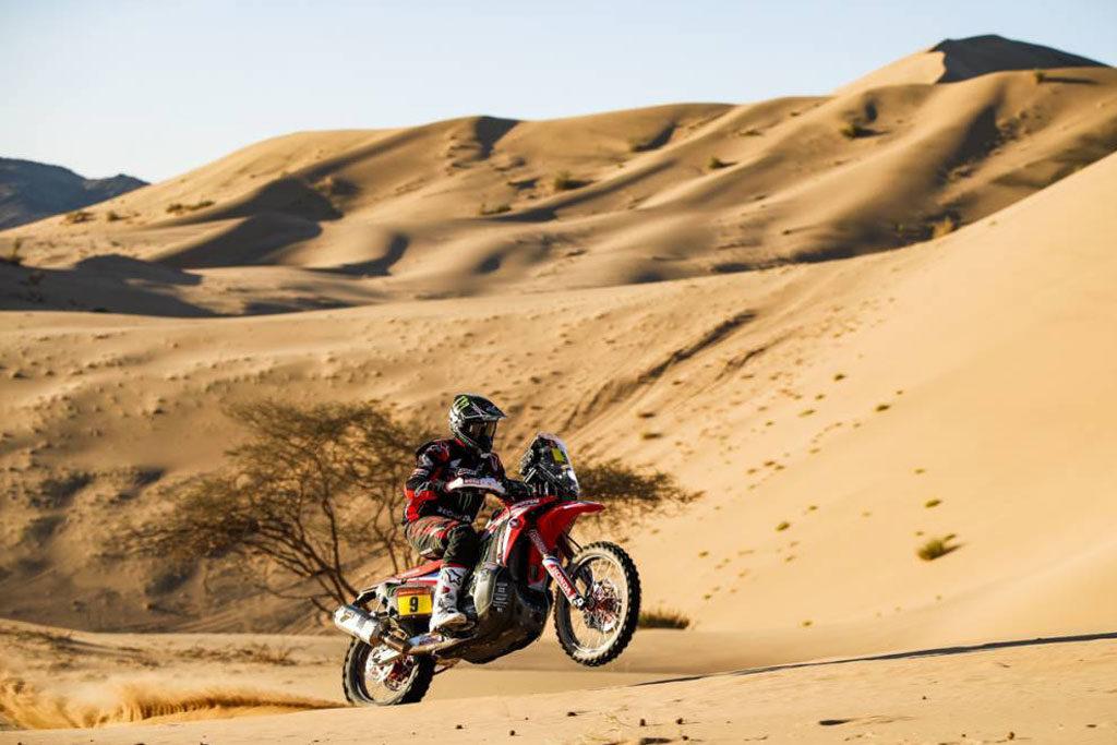 Ricky Brabec second place Dakar 2020 stage 1