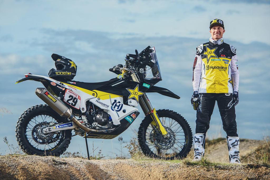 Andrew Short ready to race Dakar 2020