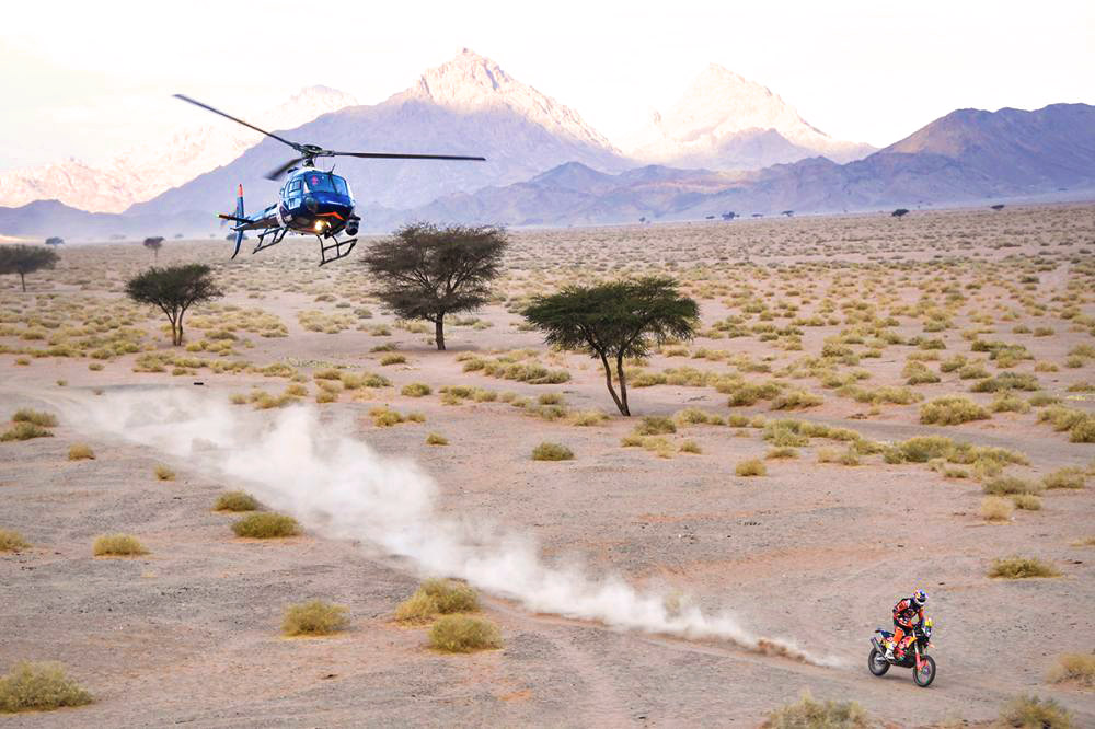 Dakar rally rule changes