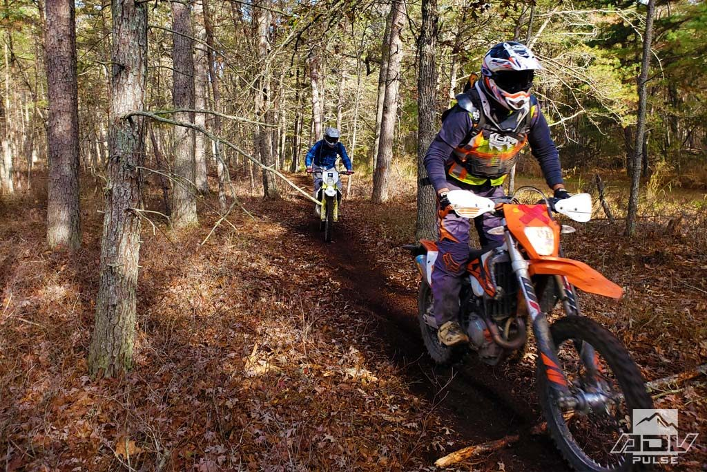 Trail riding at the Hammer Run