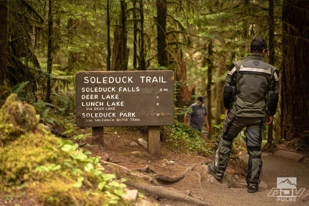 Hike the Soleduck trail.