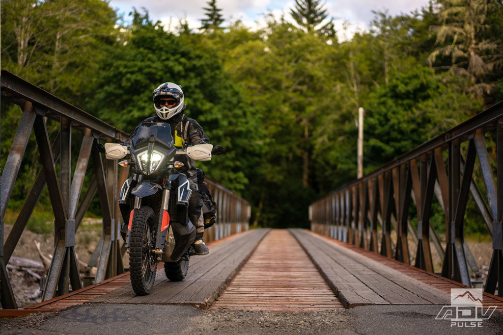 Ride Scenic Backroads on a motorcycle