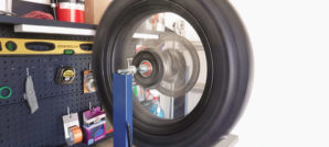 Tusk Wheel Stand for Wheel Balancing