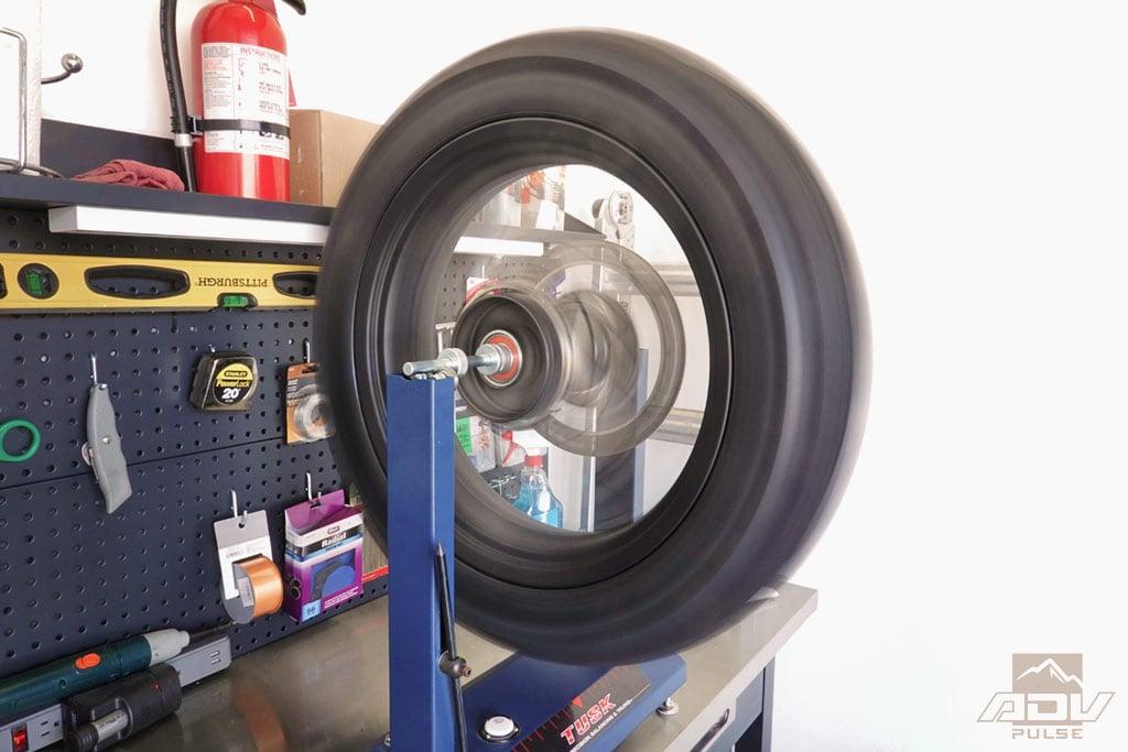 Tusk Wheel Stand for Wheel Balancing