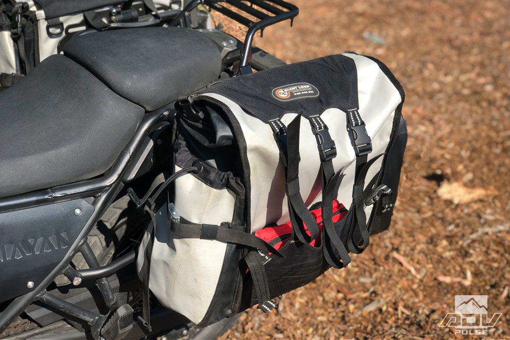 Giant Loop 'Quick-Release' Round The World Panniers