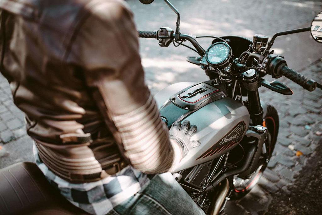 2020 Indian FTR Rally scrambler motorcycle