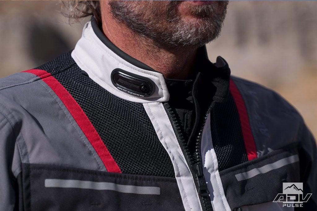 REV'IT! Offtrack jacket collar