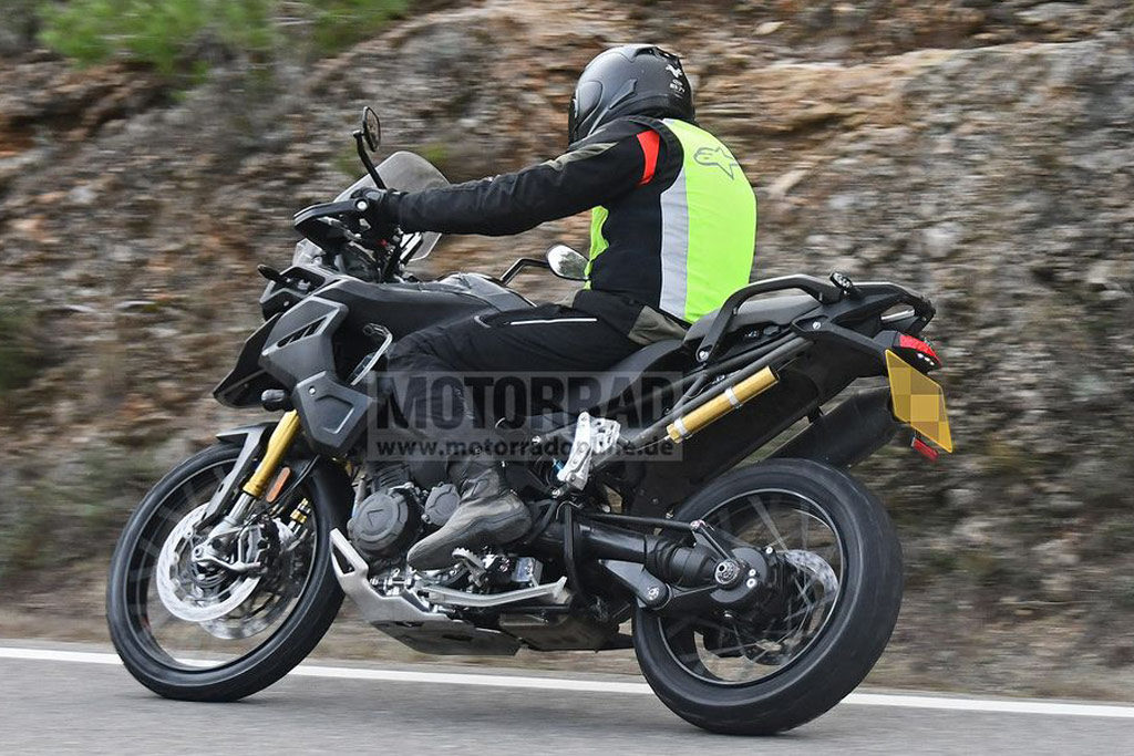Triumph Tiger 1200 spotted with key changes