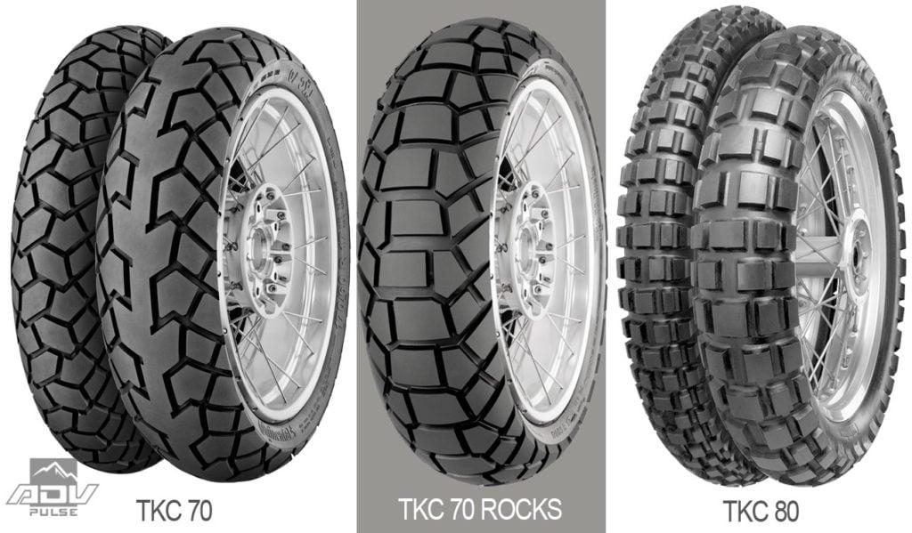 TKC family of adventure tires