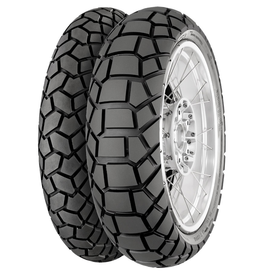 Continental TKC 70 Rocks adventure tires