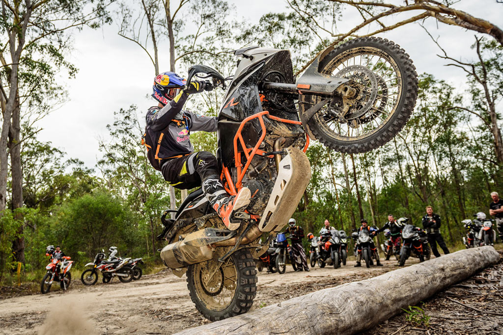 Chris Birch takes off-road clinic to USA