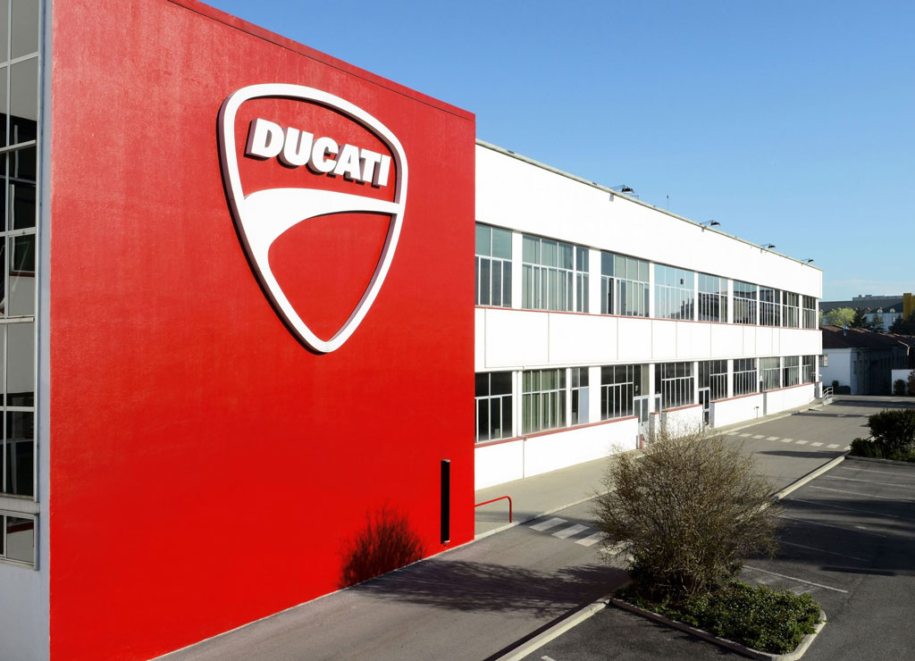 Ducati Factory halts production over coronavirus