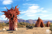 Finding Strange Art Sites On A Ride In The California Desert