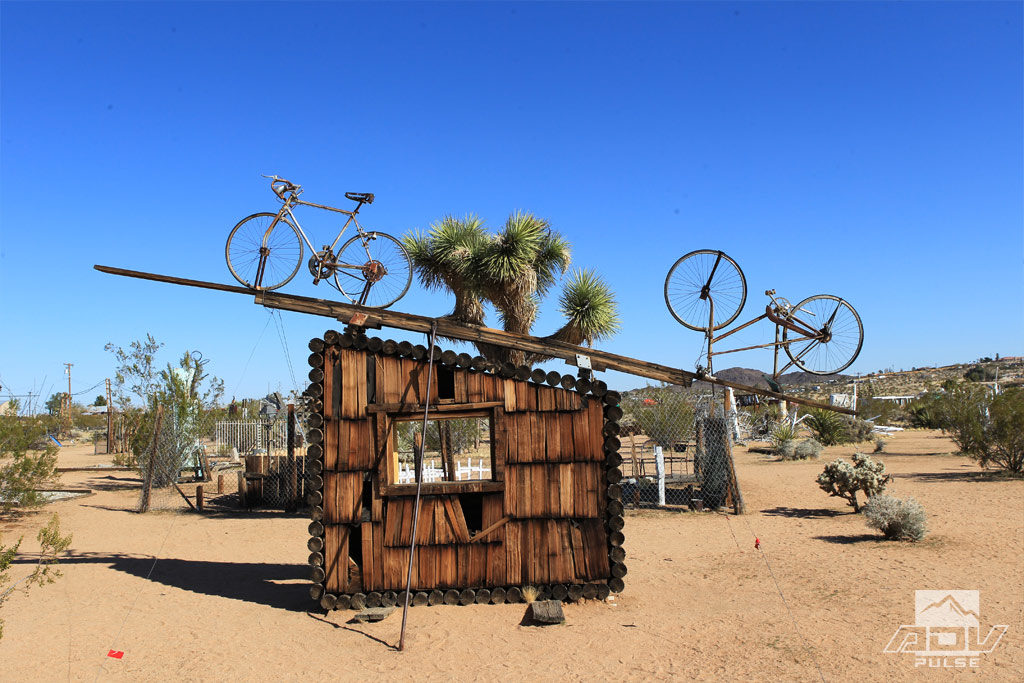 More Desert Art at the Noah Purifoy Outdoor Museum.