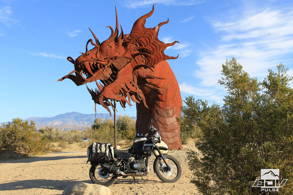 Famous Southern California Serpent Sculpture by Ricardo Breceda.