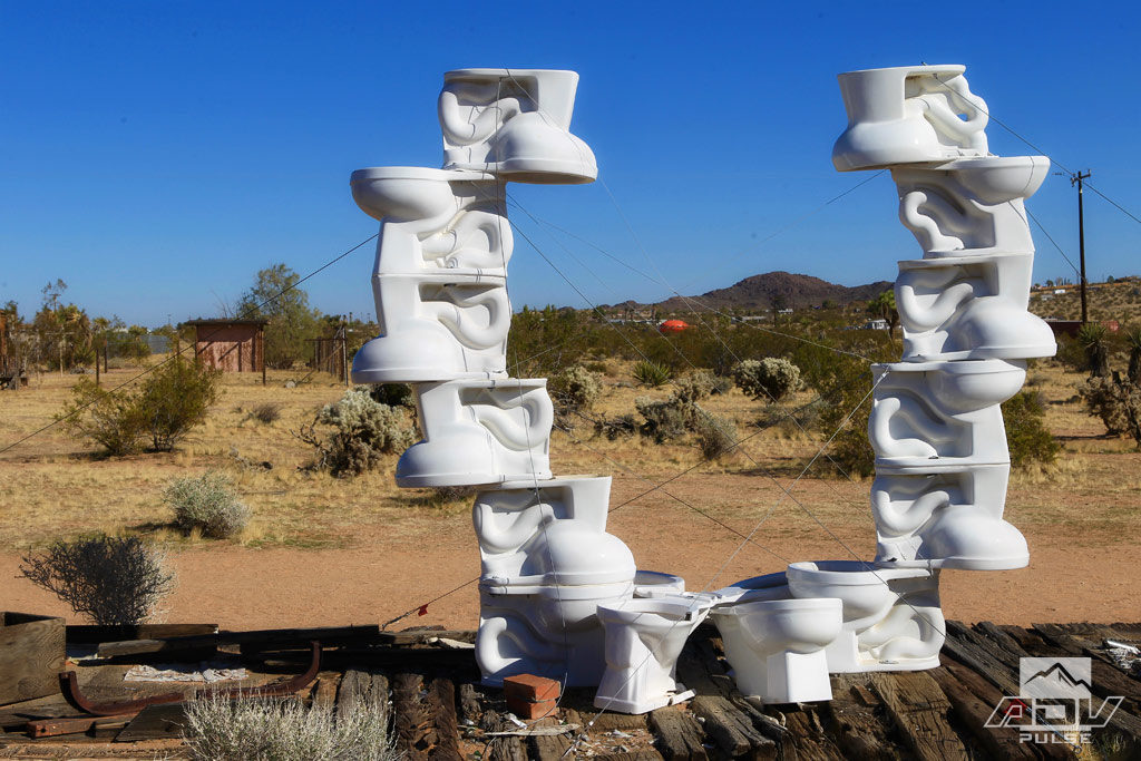 Desert Art at the Noah Purifoy Outdoor Museum.