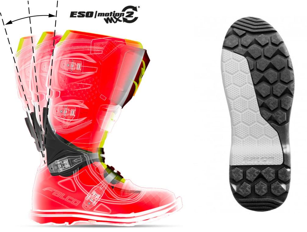 Falco Avantour 2 waterproof motorcycle boots