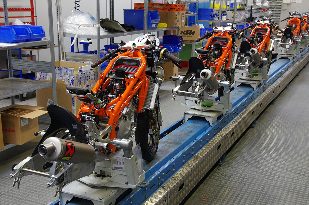 KTM halts production over coronavirus