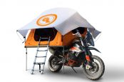 Giant Loop Launches World's First Expandable Seat-Top ADV Tent