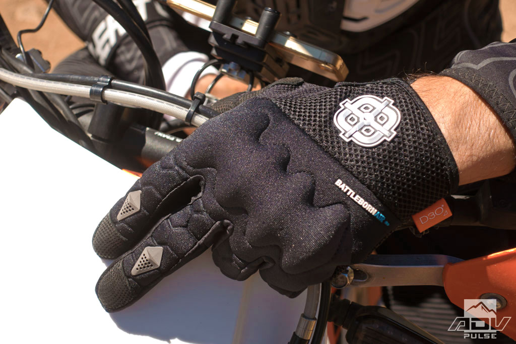 Battle Born Air off-road gloves