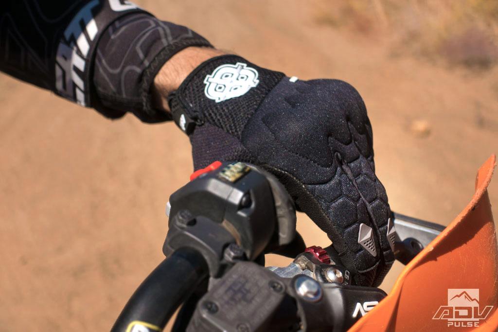 Battle Born Air dual sport gloves