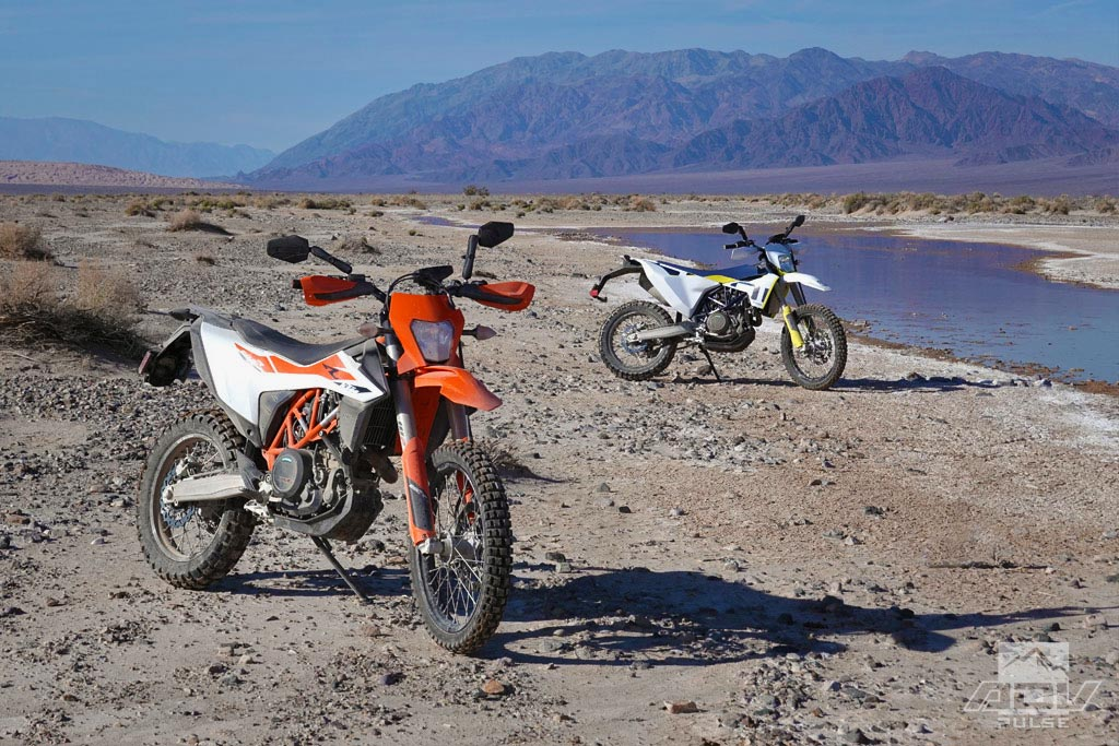 KTM 690 Enduro R and Husqvarna 701 Enduro