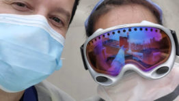 Donate Offroad Goggles to health workers