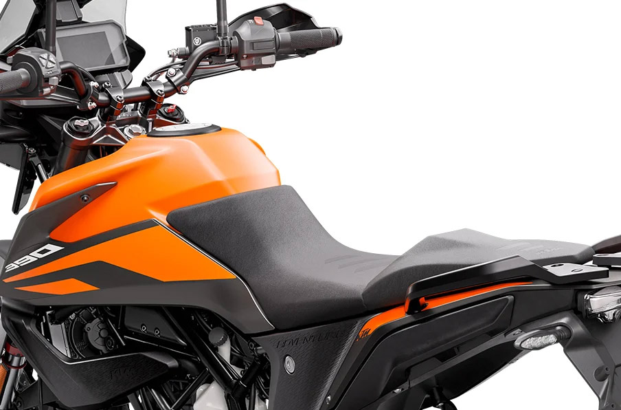 KTM 390 Adventure seat