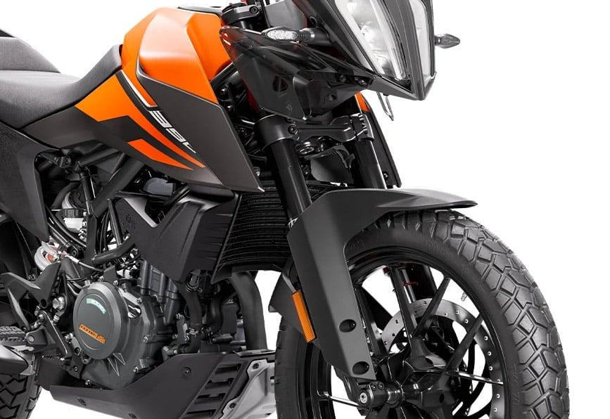 KTM 390 Adventure suspension