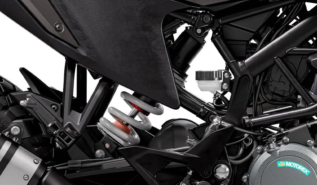 2020 KTM 390 Adventure shock