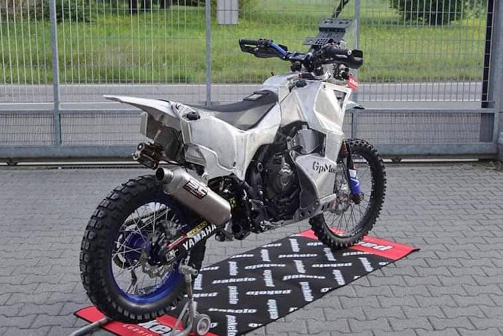 Yamaha T7 bike build