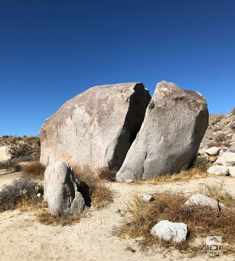 Split Rock Anza Borrego