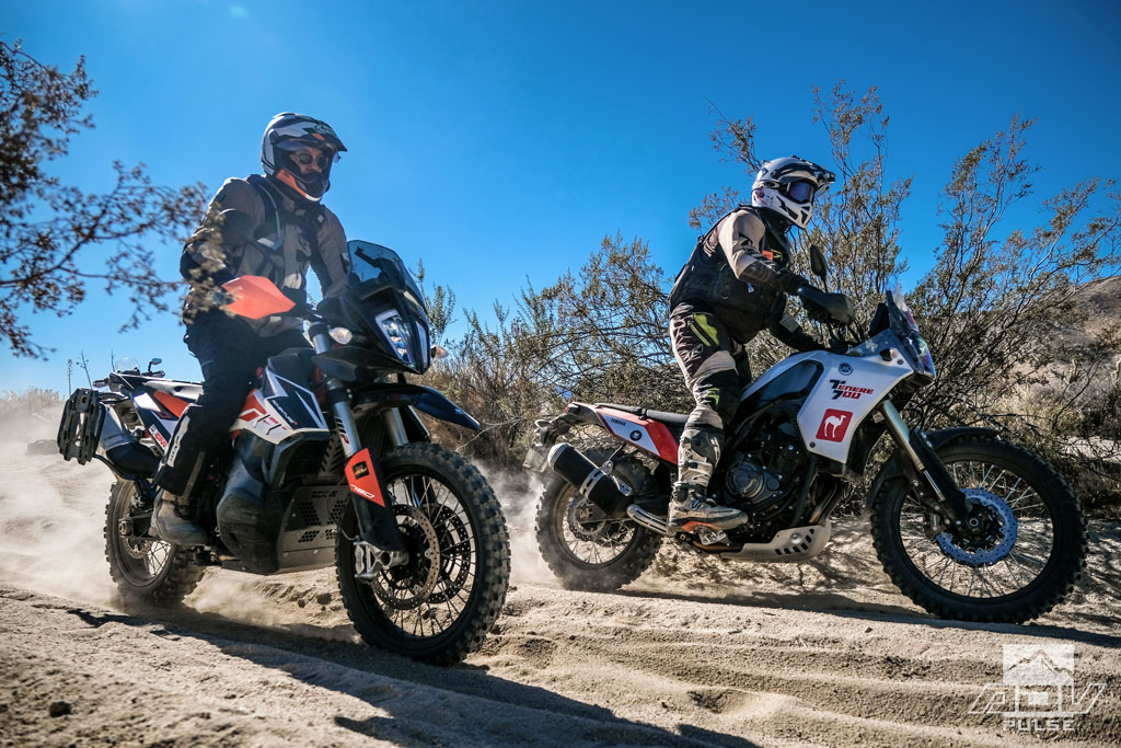 KTM 790 Adventure vs. Yamaha Tenere 700