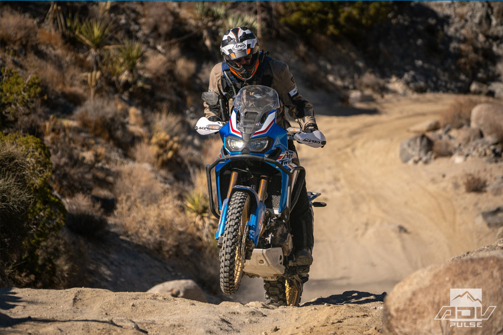 Africa Twin in Anza Borrego