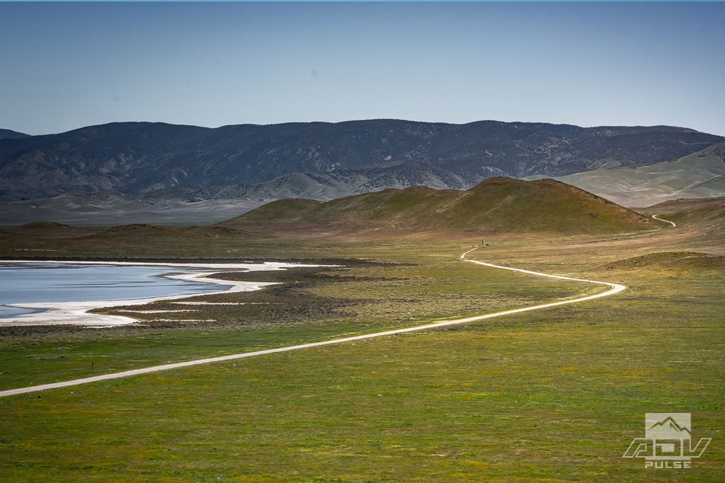 Soda Lake in Winter in the Carrizo Plain