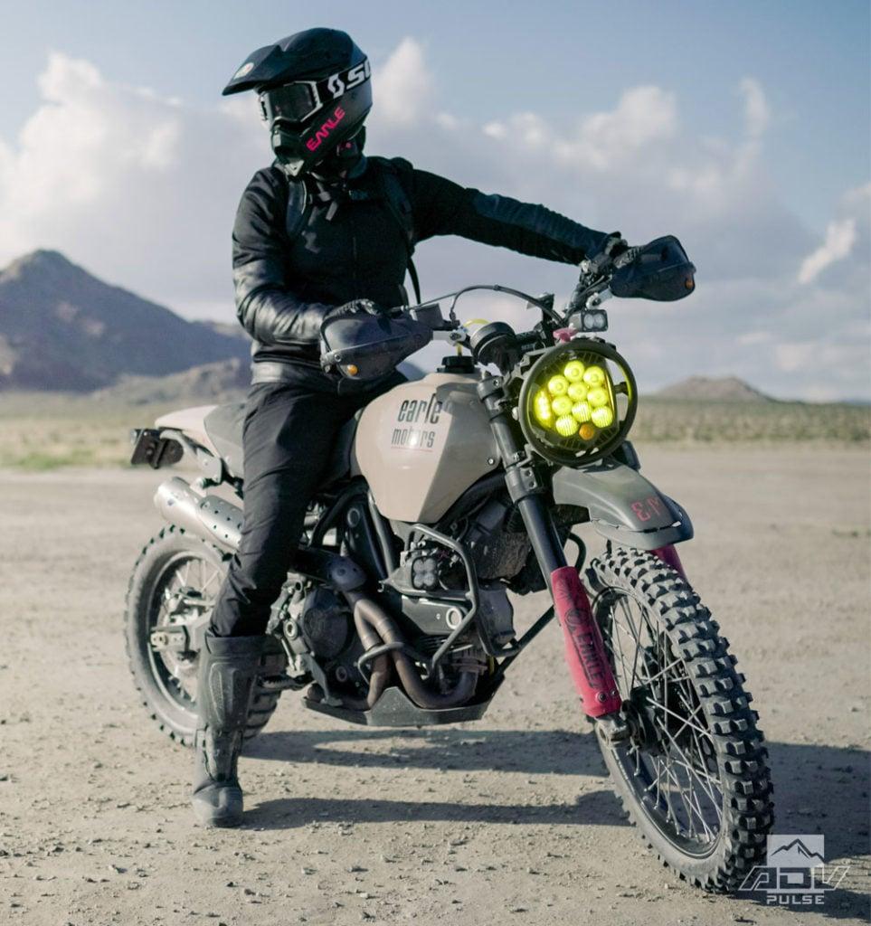 Earle Motors Ducati Desert Sled Desert Raider