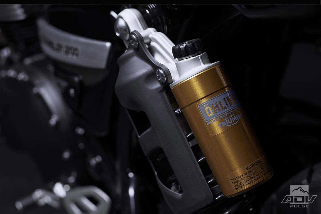 Triumph Scrambler 1200 007 Edition No Time To Die
